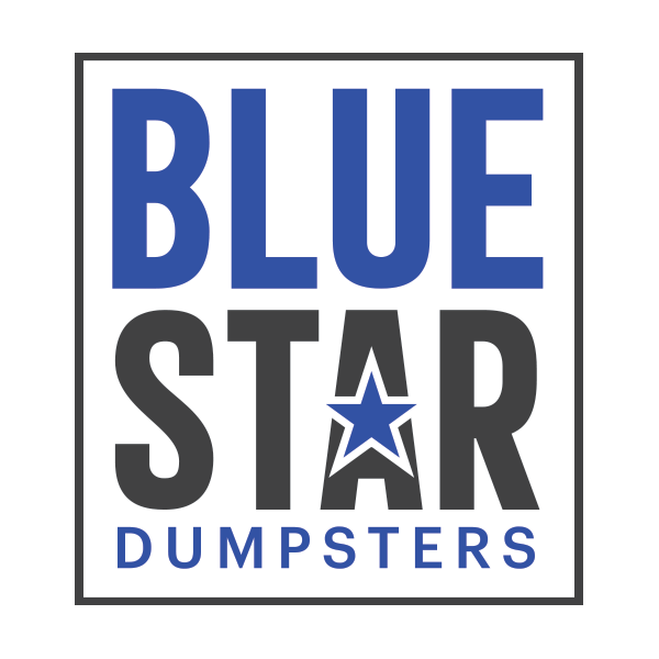 Blue Star Dumpsters Logo