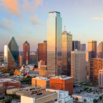 DFW Metroplex city view